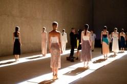 BOSS Womenswear Gallery Collection Presentation 2017-Mercedes-Benz-Fashion-Week-Berlin-SS-18-15