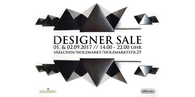 Designer Sale im Holzmarkt 2017 im Säälchen