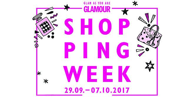GLAMOUR Shopping-Week startet im September 2017