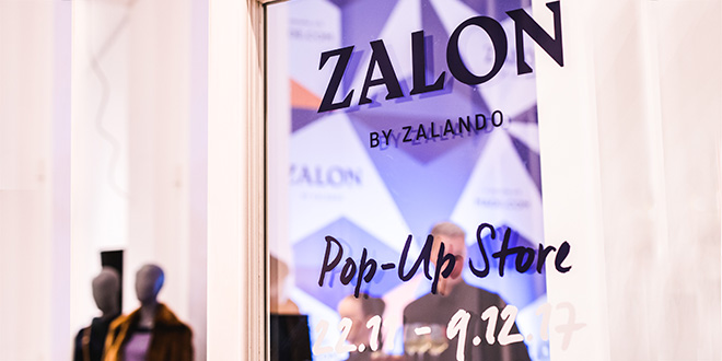 Zalon Pop-Up Store Eröffnung in Berlin 2017