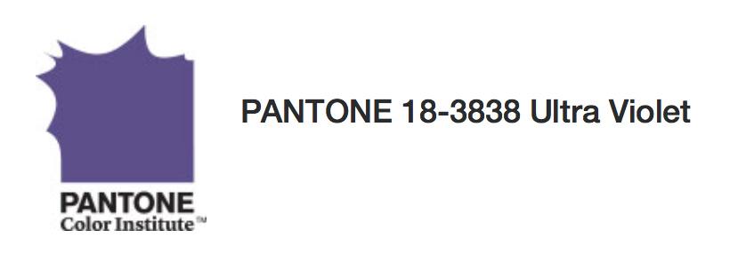 Farbe des Jahres 2018 PANTONE Ultra Violet - Mode, Shopping ...