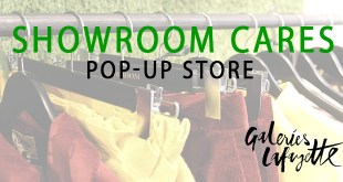 SHOWROOM CARES - POP-UP STORE IN DER GALERIES LAFAYETTE