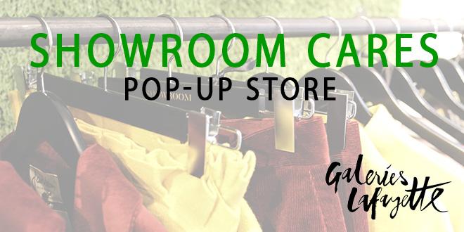 SHOWROOM CARES - POP-UP STORE IN DER GALERIES LAFAYETTE