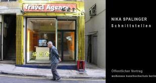 NIKA SPALINGER: Schnittstellen - weißensee kunsthochschule berlin