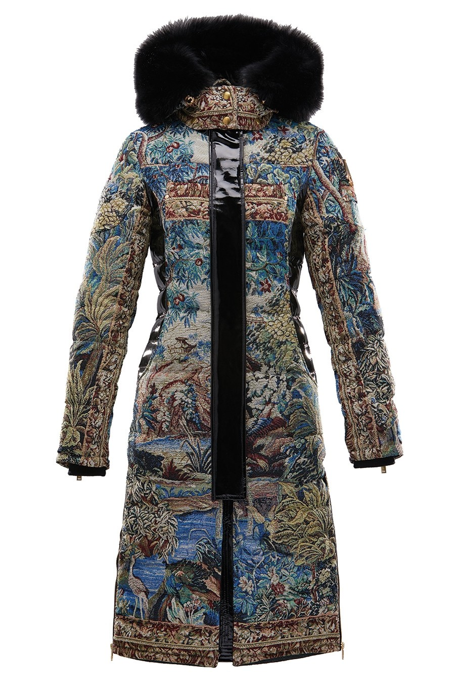 Dickinson Parka aus der Kollektion Moose Knuckles x Mary Katrantzou