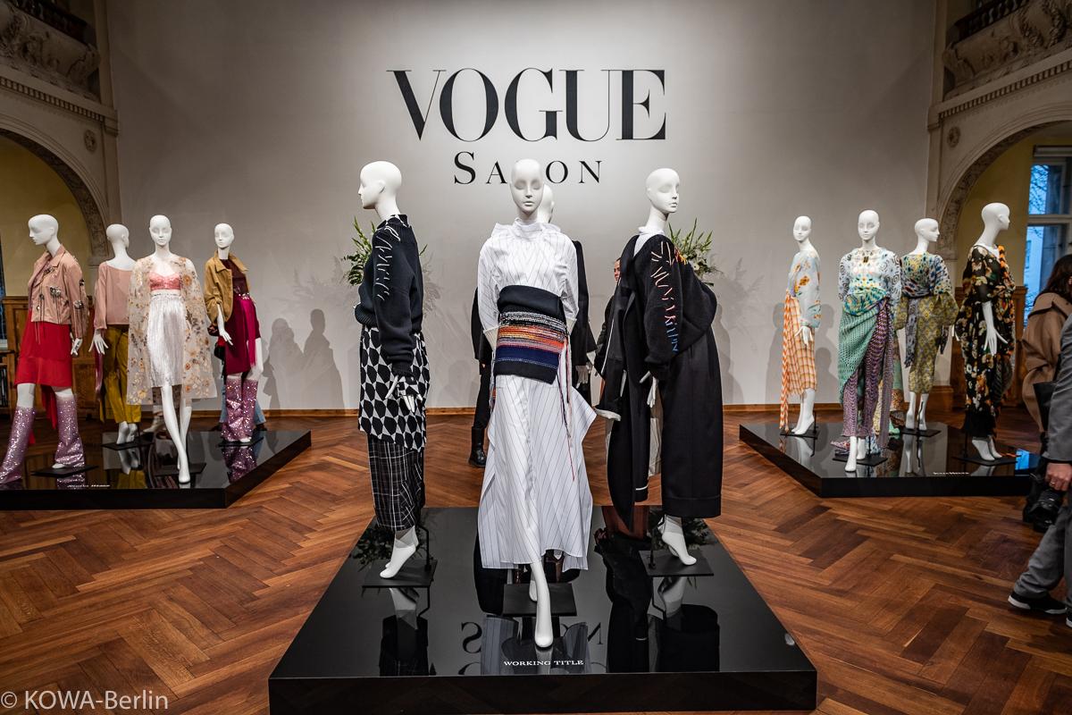 Vogue Salon Herbst Winter 2019 MBFW - Jung-Designer braucht das Land ...