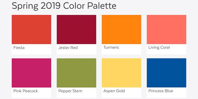 Pantone hat entschieden: Das sind die Farbtrends 2019