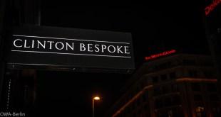 Clinton Bespoke Store Eröffnung in Berlin
