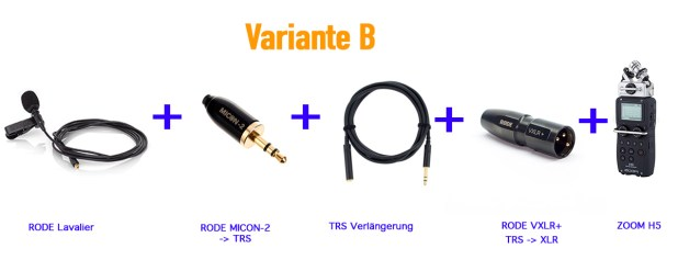RODE SmartLav+ Zoom H5 / H6