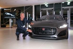 Jaguar F-TYPE Weltpremiere mit Rebecca Mir in München