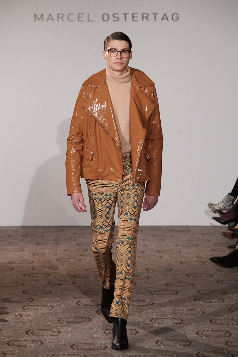Fashion Week Berlin Autumn Winter 2020 Marcel Ostertag