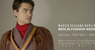 Marco Scaiano Berlin Collection Launch AW 20/21