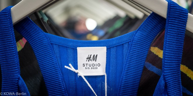 H&M Studio S/S 2020 Kollektion Pre-Shopping-Event in Berlin Mitte – Mut zur Farbe