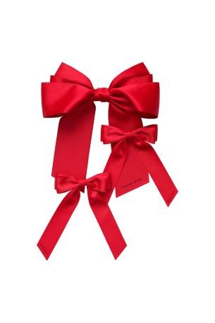 Simone Rocha x HM Bow Hairclips 29,99 EUR Red