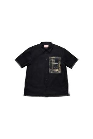 Simone Rocha x HM Printed Short Sleeve Tulle Shirt 79,99 EUR_