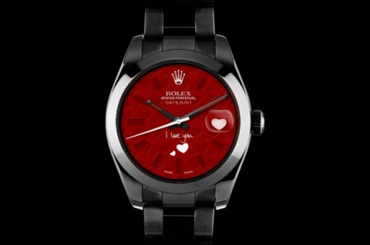 Rolex Valentine Day 2013 Watches Fashion Style Trends 2019