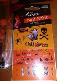 kiss halloween nail art stickers