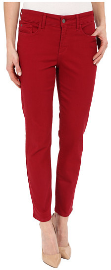 NYDJ red jeans