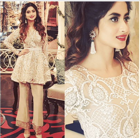 Sajal Ali And Feroz Khan At Different Events For Promoting
