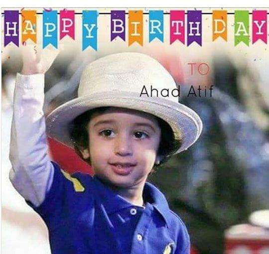 Latest Clicks Of Atif Aslam Enjoying With His Cute Son Abdul Ahad On His Birthday Pakistani