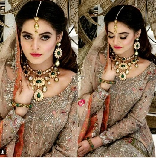 Beautiful Bridal Shoot Of Minal Khan For Real Jewellers Pakistani Drama Celebrities