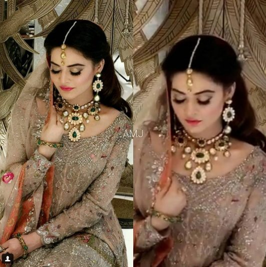 Beautiful Bridal Shoot Of Minal Khan For Real Jewellers