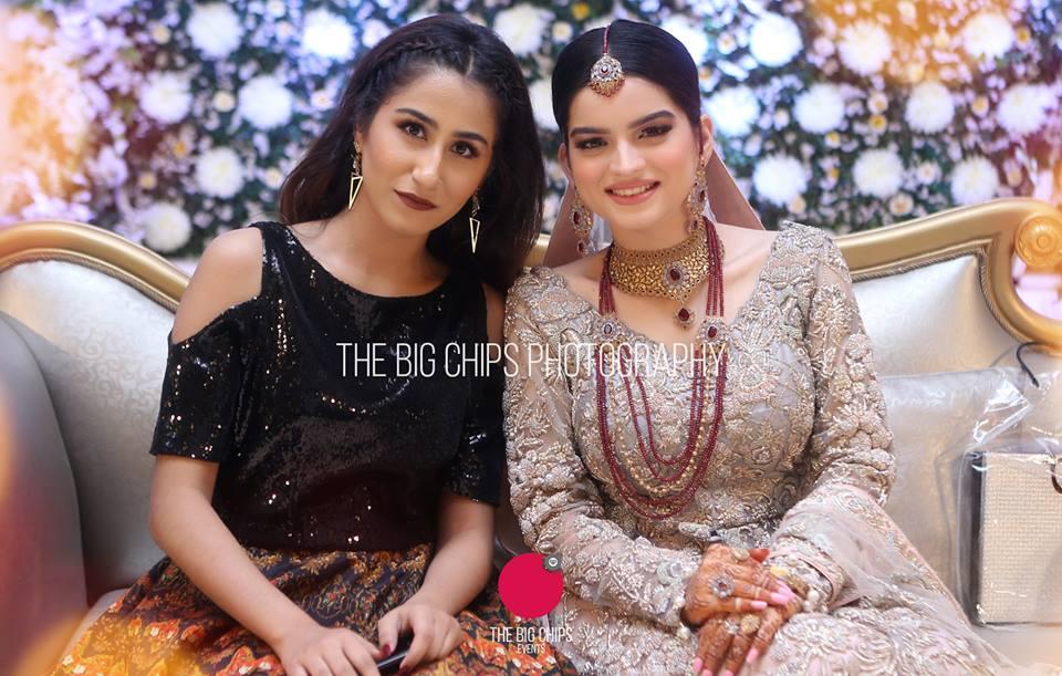 Beautiful Walima Reception Pictures Of Syeda Alizey Raza Fatima Pakistani Drama Celebrities