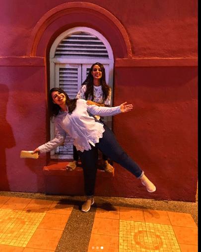 Beautiful Clicks Of Iqra Aziz With Her Sister Sidra Aziz Pakistani Drama Celebrities