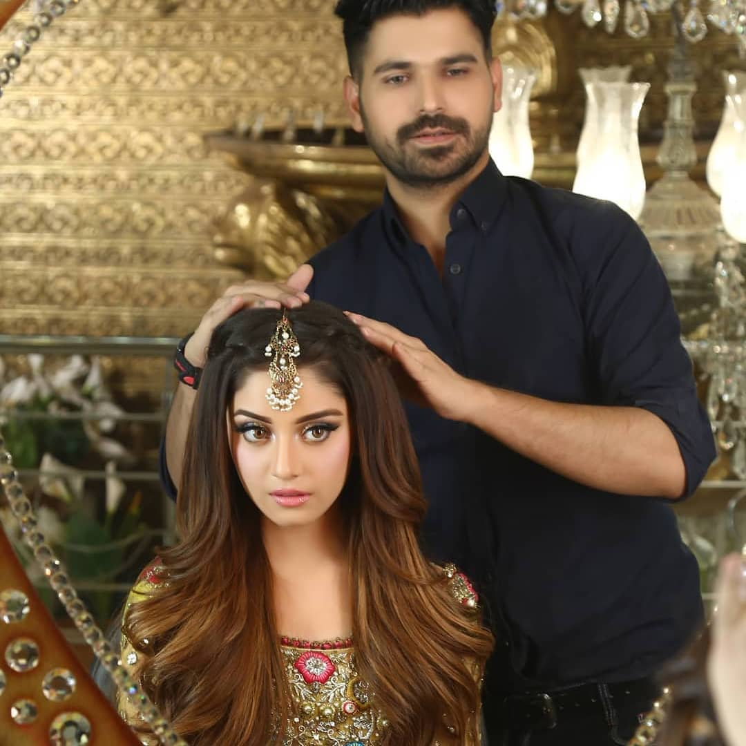 Gorgeous Actress Alizeh Shah in Bridal Dress - Awesome New Photos