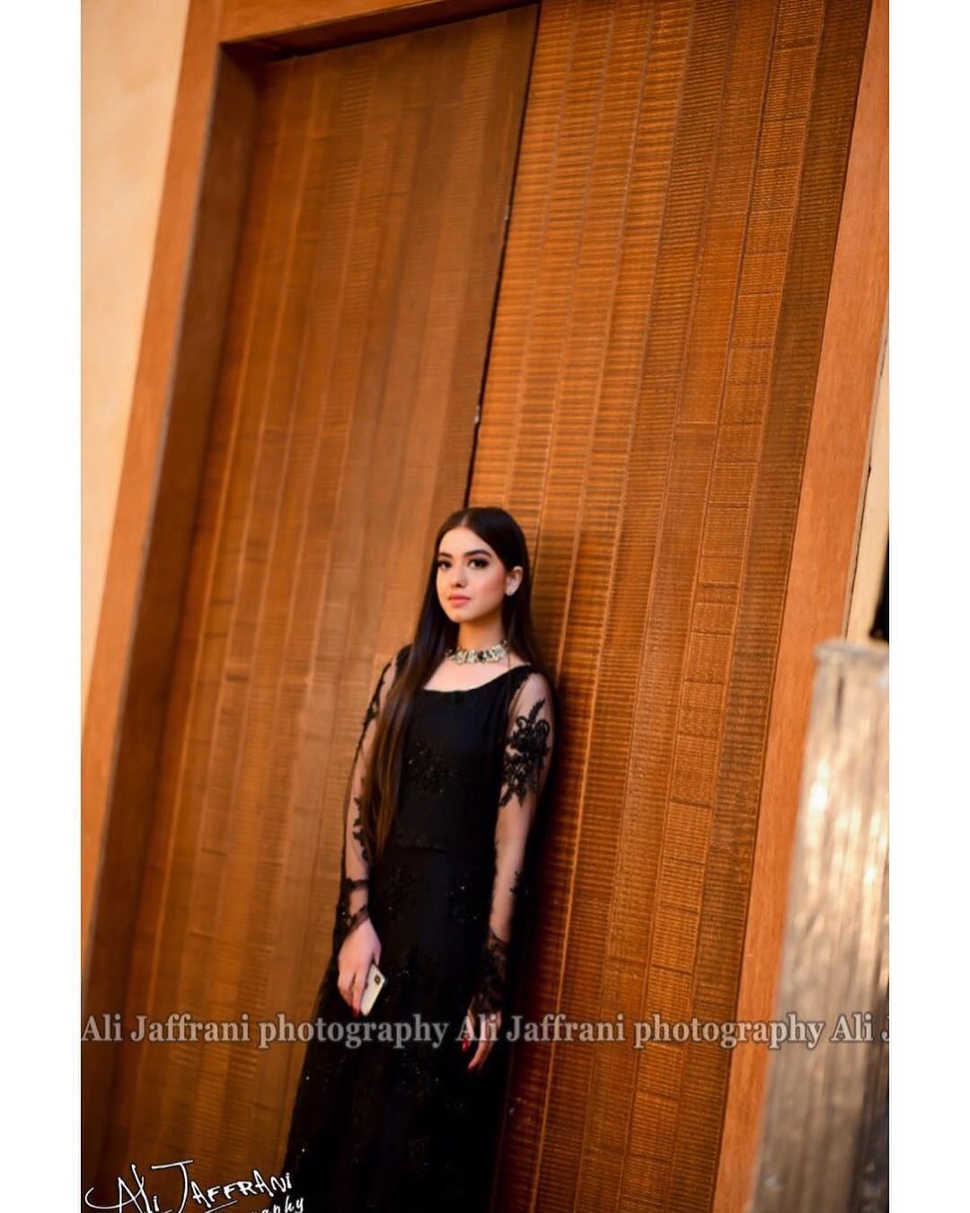 Sarah Razi and Arisha Rashi Beautiful Photos at Aiman Muneeb Walima
