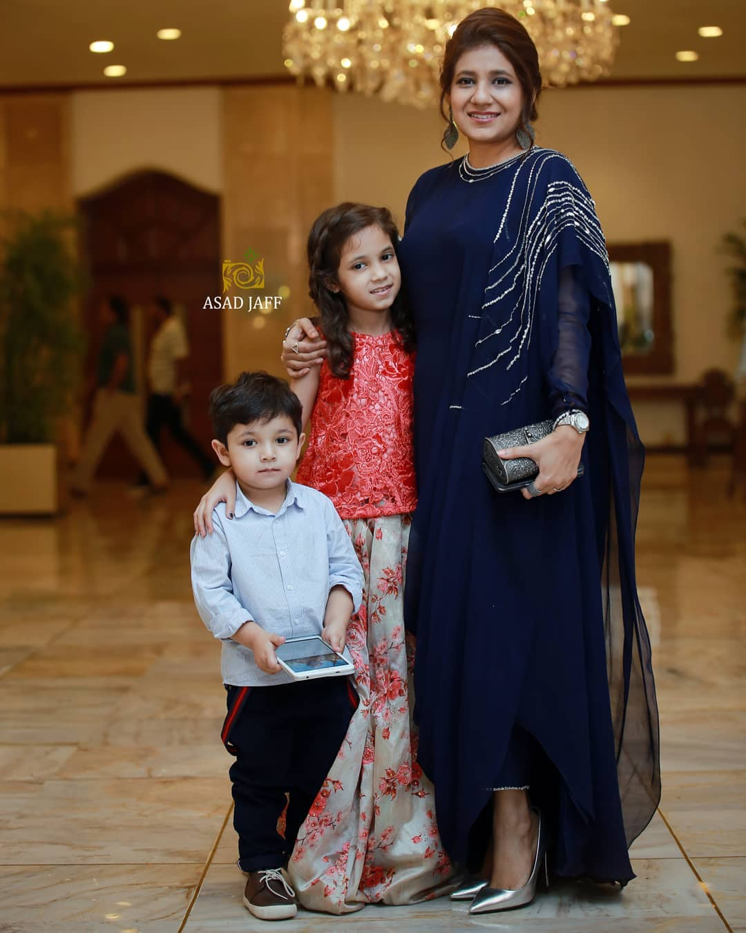 Famous Host and Actor Fahad Mustafa with Family at Function | Check Superb Pictures