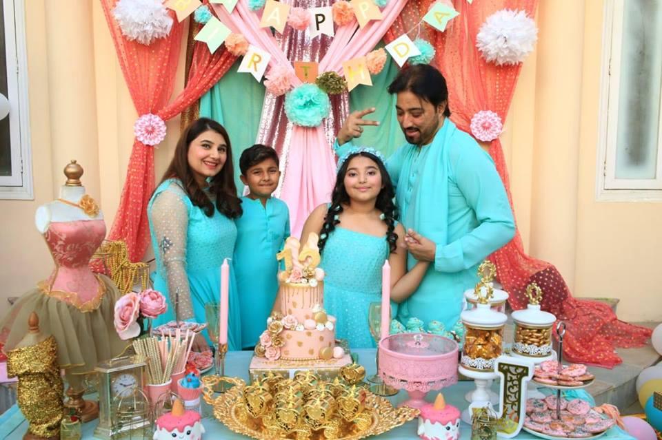Awesome Photos of Javeria & Saud Daughter Jannat Birthday Party