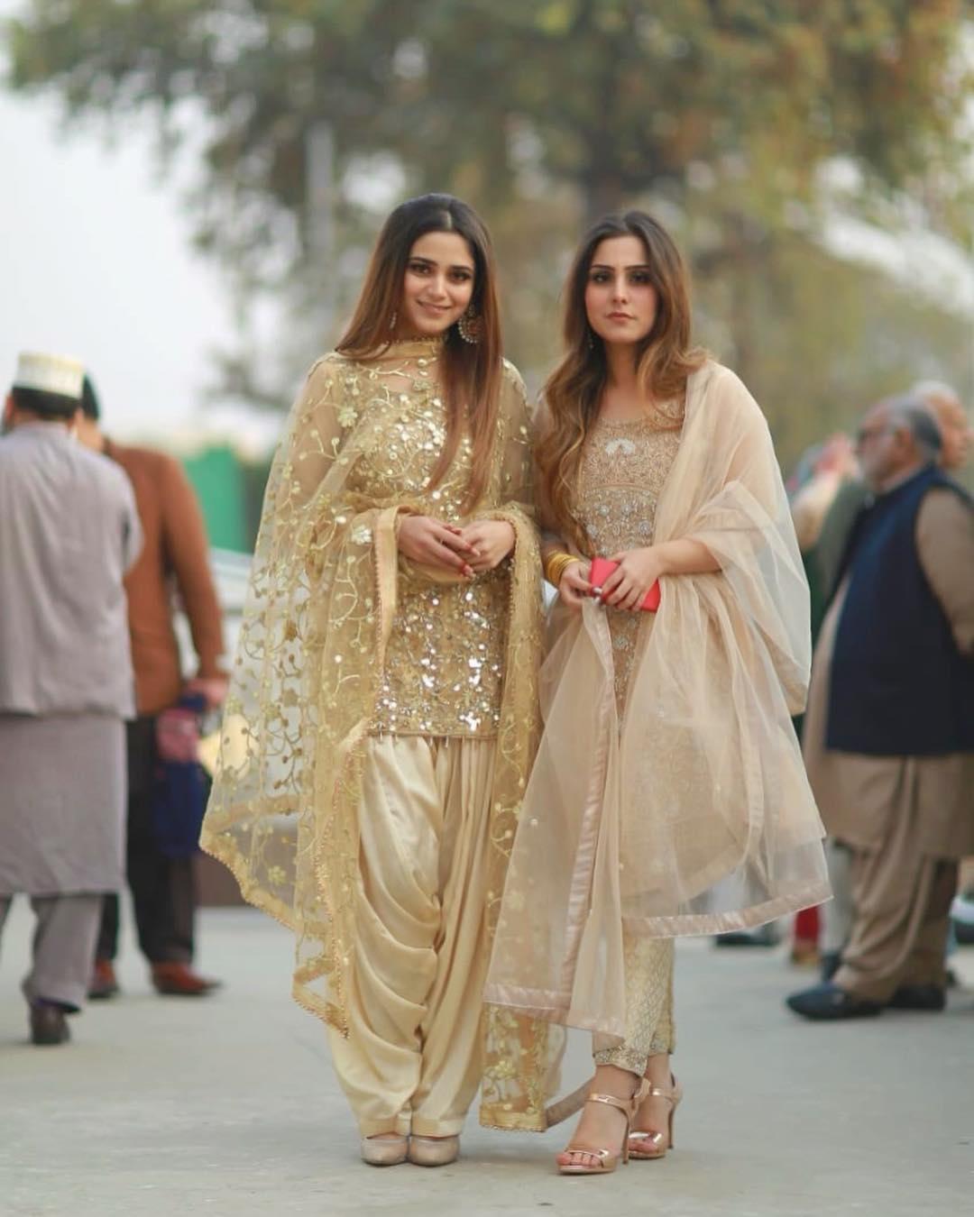 Looking So Cute - Aima Baig at Walima of Her Sister Nadia Baig   Check Beautiful Clicks