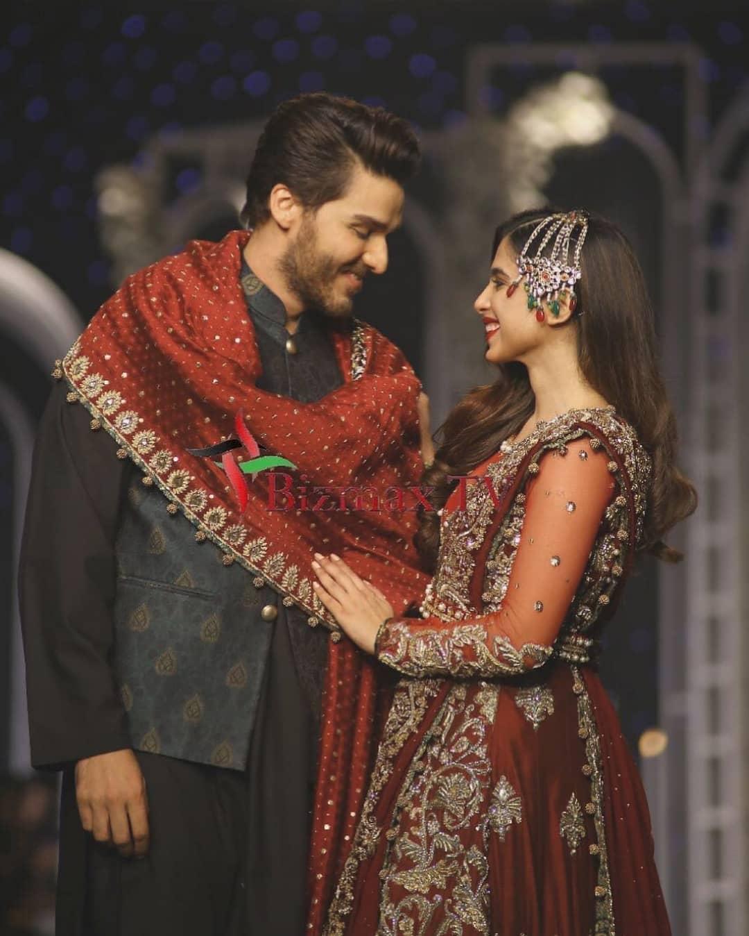 Beautiful Actors - Sonya Hussain and Ahsan Khan Walk on Ramp at PHBCW