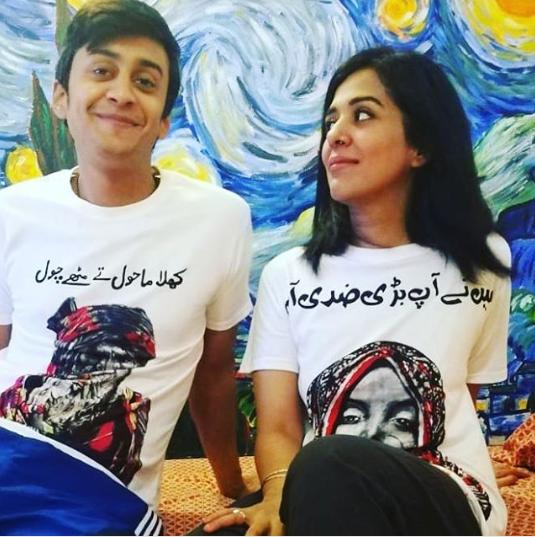 Awesome Photos of Yasra Rizvi with her Husband Abdul Hadi