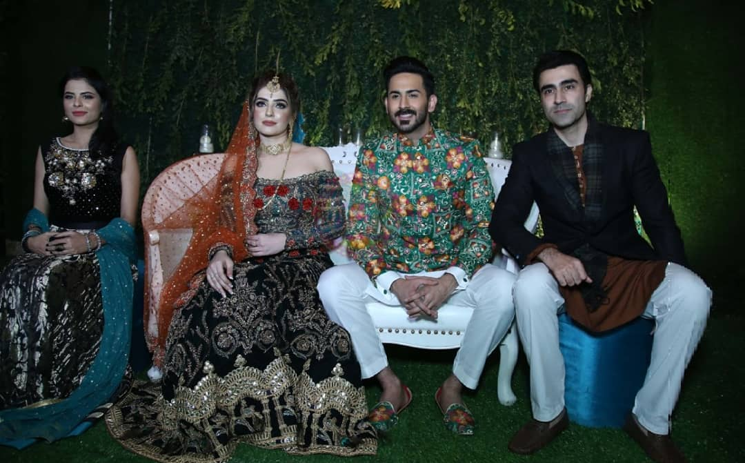 Beautiful Clicks Of Actor Shan Baig Mehndi Event Pakistani Drama Celebrities
