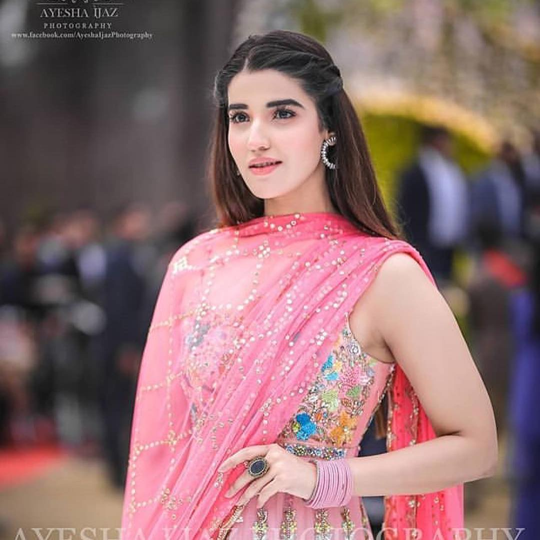 Beautiful Hareem Farooq At A Wedding Event Pakistani