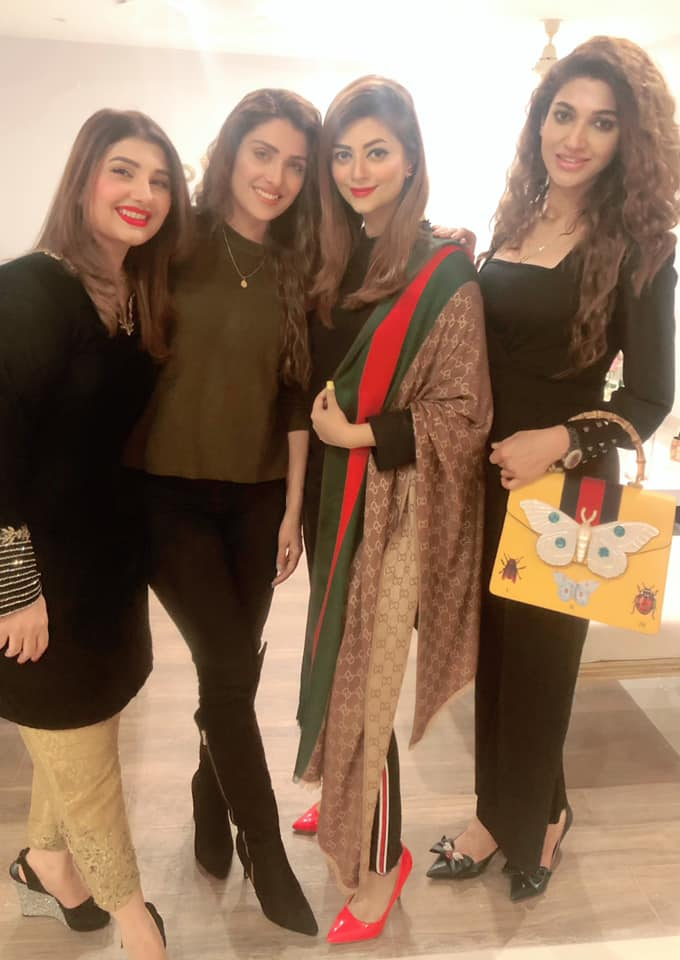 Celebrities At Javeria Saud Home Last Night For Dinner Pakistani Drama Celebrities