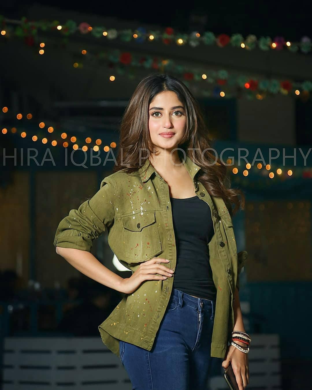 Beautiful Sajal ALy At Asma Abbas Birthday Party Pakistani Drama Celebrities