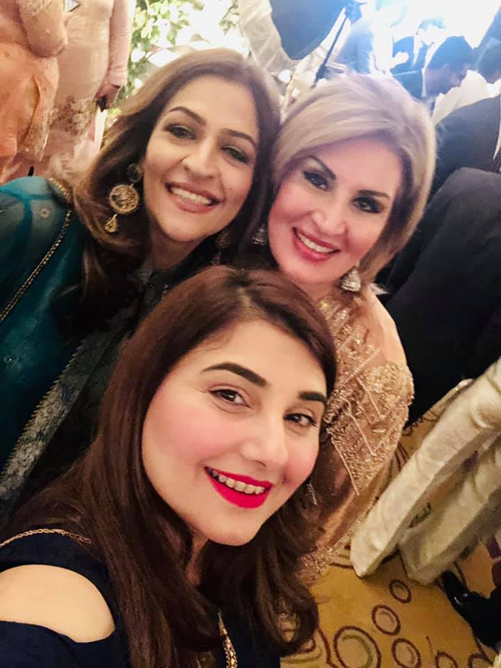 Beautiful Javeria Saud At A Wedding Event Pakistani Drama Celebrities