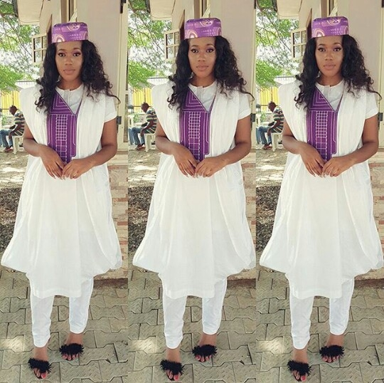 2018 Best Short Agbada Styles For Women