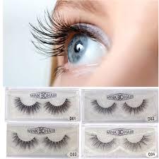 89392fc851c Qibest False Eyelashes Longlasting Lashes Natural Eyelashes Cruelty Free 1  Pair A