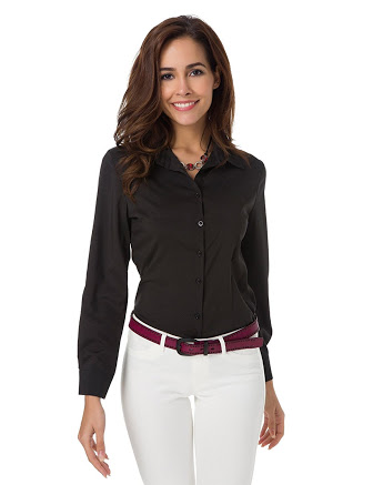 4 Good Corporate Shirts For Women Available In Amazon