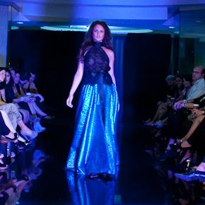 Santiago Couture de frente a Sonia Santiago