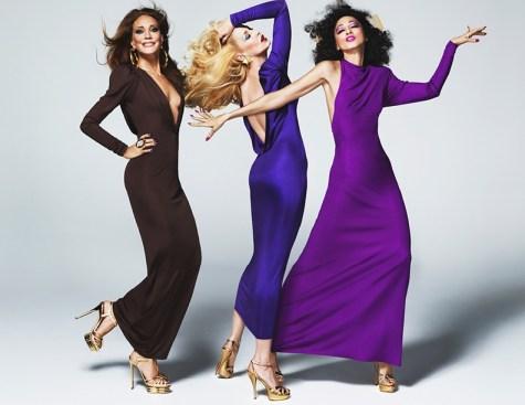 Protagonizan la campaña tres de las más famosas chicas de Antonio López, Maria Brenson, Jerry Hall y Pat Cleveland.