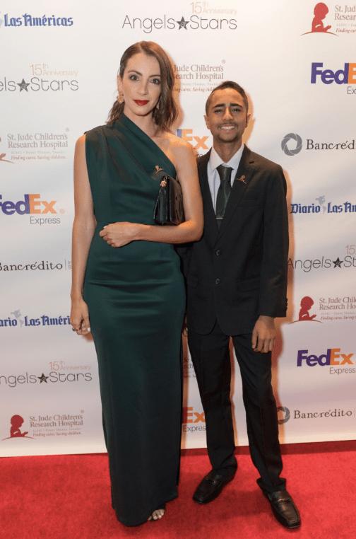 Loreana von Plocki, de 'The daily Bella', fashion blog en la gala St Jude