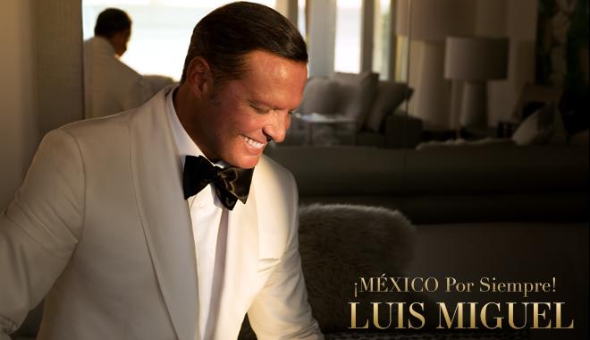 El más esperado, Luis Miguel, vuelve a los escenarios