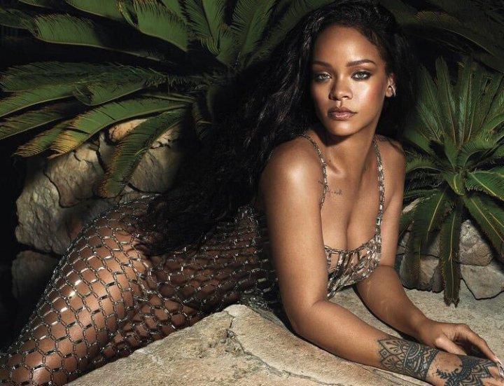 Rihanna para Vogue