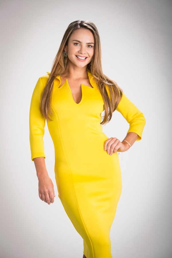 Ximena Cordoba presentadora