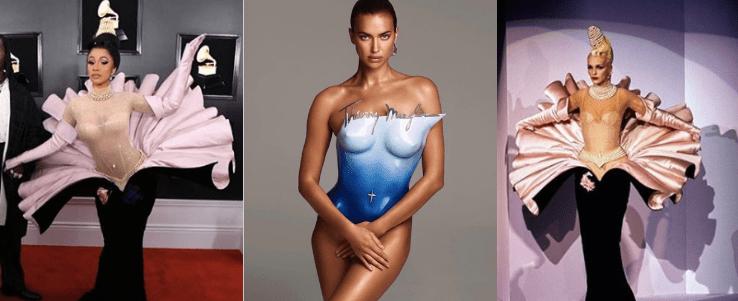Thierry Mugler Fashion Vitrine